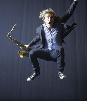 Marius Neset (photo: Kiran Ridley)