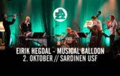 EIRIK HEGDAL – MUSICAL BALLOON